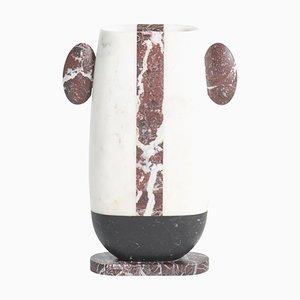 Vase Pietro en Marbre par Matteo Cibic