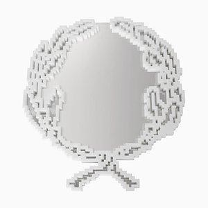 Espejo de pared Emblema pequeño de Michele Chiossi