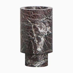 Red Inside Out Vase von Karen Chekerdjian