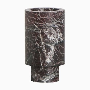 Vase Rouge Inside Out par Karen Chekerdjian