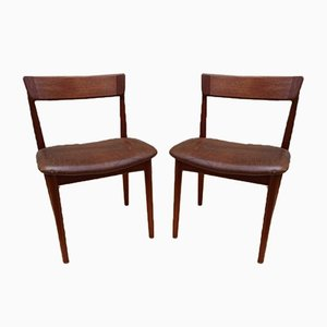 Mid-Century Rosewood Model 39 Desk Chairs by Henry Rosengren Hansen for Brande Møbelindustri, Set of 2