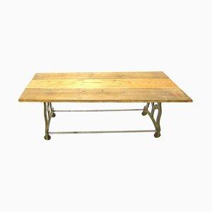 Table de Travail Industrielle Vintage