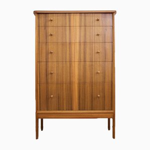 Teak & Walnut Chest of Drawers by Peter Hayward for Vanson, 1960s