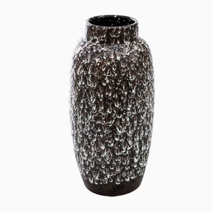 Large West German Fat Lava Vase, 1970s
