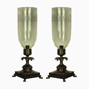 Table Lamps, 1930s, Set of 2