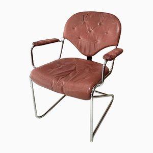 Chaise de Bureau par Sam Larsson pour Dux, Suède, 1970s