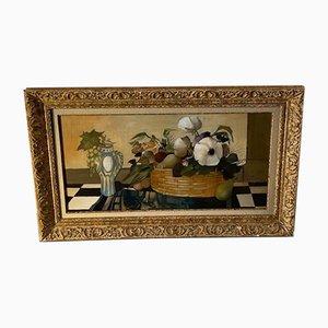 Olio su tela - Albert Deman - Natura morta - XX secolo