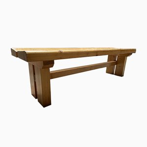Vintage Bench by Charlotte Perriand, 1972