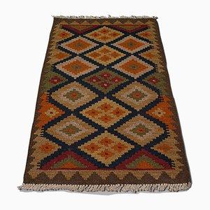 Small Middle Eastern Woven Maimana Kilim Rug, 1960s