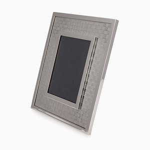 20th Century Silver Picture Frame by Gucci for Gucci, 1980s
