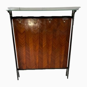 Art Deco Ebony & Rosewood Cabinet, 1920s