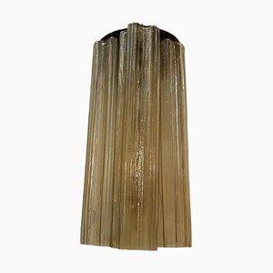 Röhren Murano Glas Wandlampen, 1970er, 2er Set