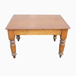 Antique Country Pine Side Table, 1900s