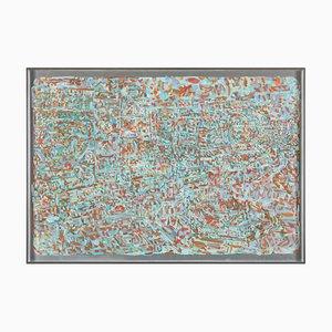 Abstrakter Siebdruck, Dieter Roth, Piccadilly, 20. Jh