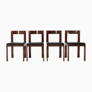 Dining Chairs by Antonio Virgilio for Bernini, 1970s, Set of 6