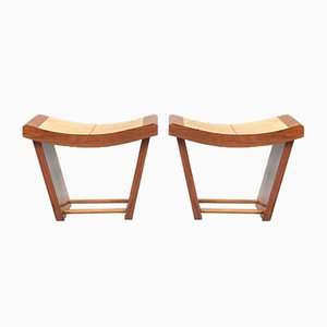 Vintage Stools by Osvaldo Borsani, Set of 2