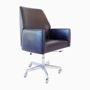 Chaise de Bureau Pivotante Noire de Mauser Werke Waldeck, 1960s