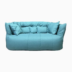 Blue Brigantin Sofa from Ligne Roset, 1980s