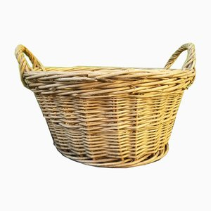 Wicker Baskets, 1920s, Set of 4