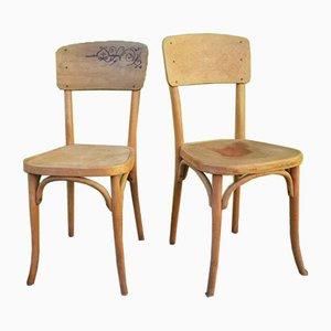 Bugholz Stühle von Gebrüder Thonet Vienna GmbH, 1920er, 2er Set