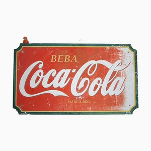 Vintage Coca-Cola Schild, 1960er