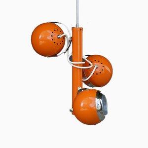 Orange Pendant Lamp, 1970s