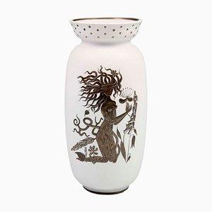 Mid-Century Vase von Stig Lindberg für Gustavsberg
