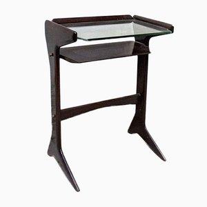 Tavolino da caffè in mogano di Ico Luisa Parisi per De Baggis, anni '50