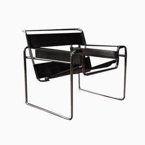 Club chair B3 di Marcel Breuer per Gavina, anni '60
