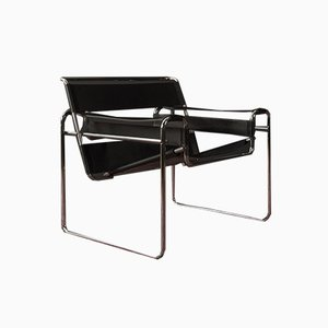 B3 Club Chair by Marcel Breuer for Gavina, 1960s