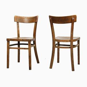 Antike Esszimmerstühle von Michael Thonet, 2er Set