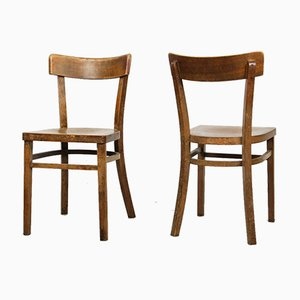 Antique Dining Chairs by Michael Thonet, Set of 2