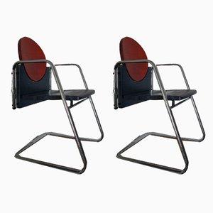 Chaises de Bureau Pinocchio D Pino par Martin Stoll, 2006, Set de 2