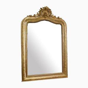 Golden Wood Mirror, 1950s