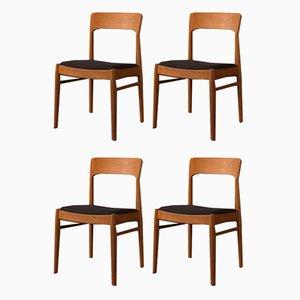 Sedie da pranzo di KS Møbler, anni '60, set di 4