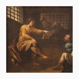 Großes Gemälde, Joseph erklärt die Träume, 17. Jahrhundert