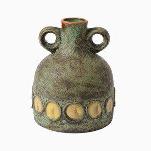 Vaso Toscana in ceramica di Hans Welling per Ceramano, anni '60