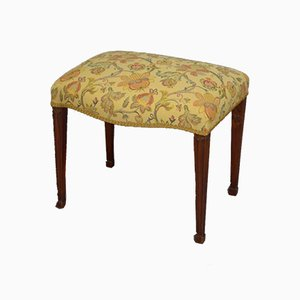 Hepplewhite Period Serpentine Stool