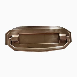 Art Deco Bronze Mailbox, 1920s