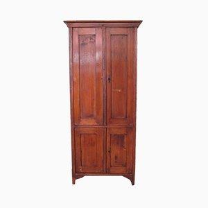 Credenza o armadio antico in legno di abete