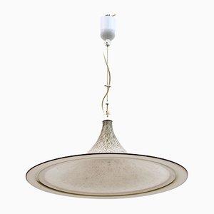 Italienische Deckenlampe aus Muranoglas, 1970er