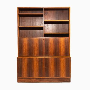 Rosewood Secretaire by Carlo Jensen for Hundevad & Co., 1960s