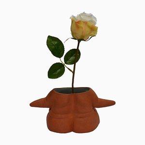 Terracotta Pot Lady by Helena Lacy