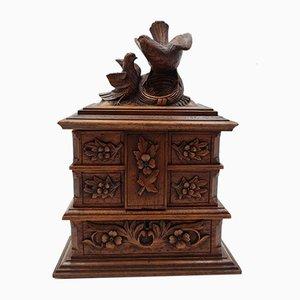 19th Century Bride Jewelry Box
