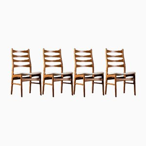 Mid-Century Royal Danish Dining Chairs, 1960s, Set of 4