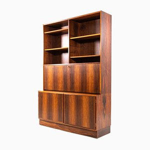 Brazilian Rosewood Cabinets from Hundevad & Co., 1960s, Set of 2