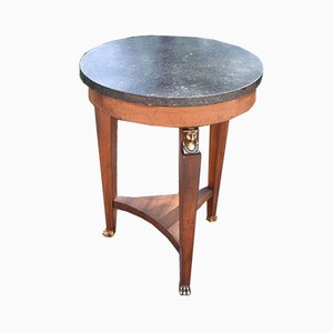 Vintage Low Pedestal Table