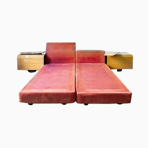 Daybeds by Giovanni Offredi for Saporiti Italia, 1970s, Set of 2