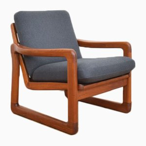 Danish Teak Armchair from Holstebro Møbelfabrik, 1970s