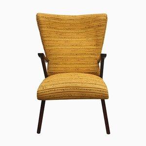 Yellow Ocher Club Chair, 1950s